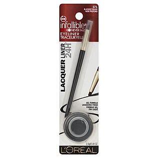 Murah L Oreal Liner Black Lacquer Eyeliner l oreal 171 blackest black gel lacquer liner 0 08 oz peg eye liner