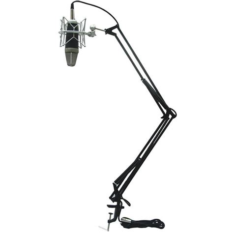 microphone stand desk icon mb 03 desk mount scissor style microphone stand