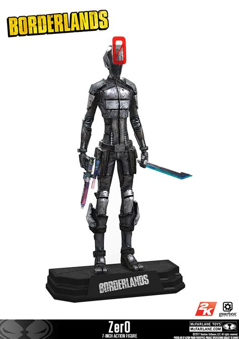 Mcfarlane Borderlands 2 Handsome mcfarlane toys borderlands zer0 figure the toyark news