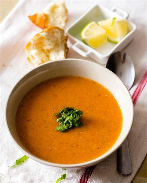 turkish red lentil soup recipe vegetarian lentil soup recipe