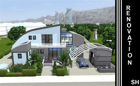 future house the sims 3 into the future house renovation 1st youtube