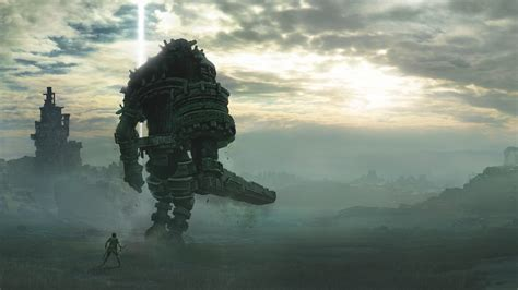 Wallpaper Shadow of the Colossus, PlayStation 4, 2018, 4K