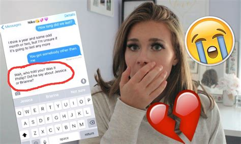 8 Wrong Reasons To Up With Your Boyfriend by We Up Song Lyric Text Prank On Boyfriend