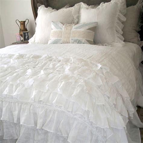 lily ruffle duvet farmhouse duvet covers and duvet