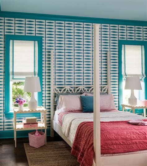 Pink And Turquoise Bedroom by Turquoise And Pink Bedrooms Interiors By Color