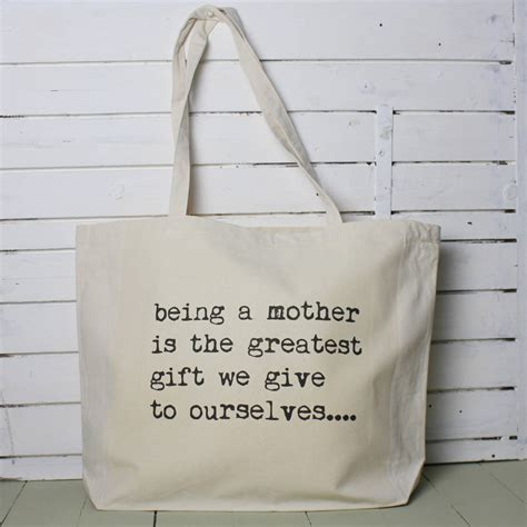 Tote Bag Quotes by Personalised Inspirational Quote Tote Bag By Snapdragon