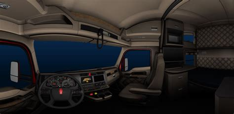 Truck Interior by Kenworth T680 Truck Interior For Ats American Truck