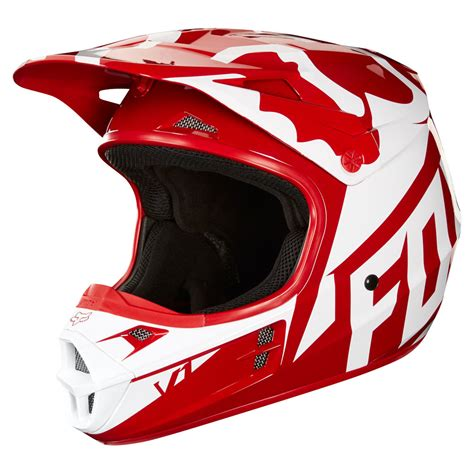 fox helmet motocross 2018 fox racing v1 race helmet sixstar racing