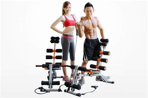 New Sit Up Bench Alat Fitnes Seperti Kettler six pack care 10in1 multi function alat olahraga fitnes