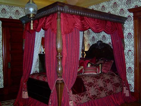 victorian bed victorian bedroom canopy workroom intelligence skirted and upholstered chest for