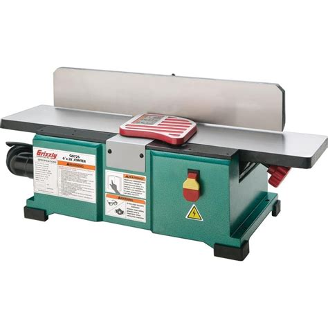 bench joiner g0725 benchtop jointer tools i want pinterest