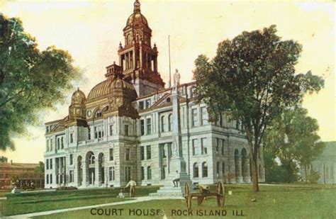 Lake County Il Court Records Rock Island County Courthouse In Rock Island Il Court