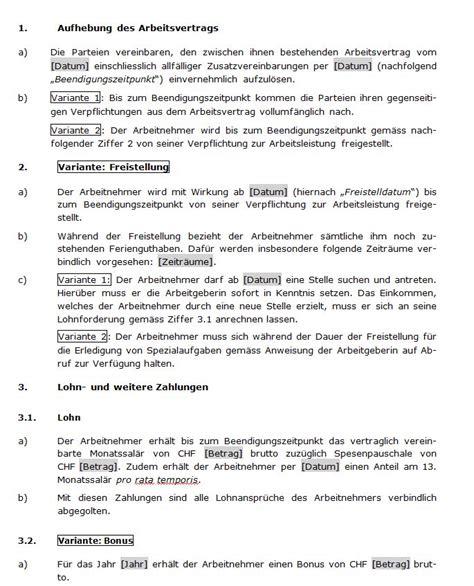 Vorlage Kündigung Arbeitsvertrag Bitte Aufhebungsvertrag Muster Aufhebungsvertrag Direkt Downloaden Und Sofort Einsetzen