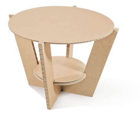 tavolo cartone cartone riciclato cos 236 ti rinnovo la casa omnia magazine