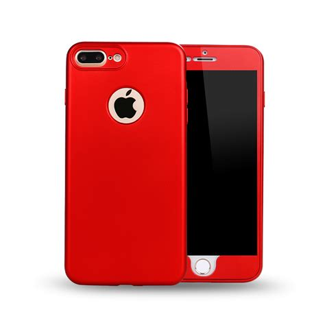 wholesale iphone   tpu full cover hybrid case red