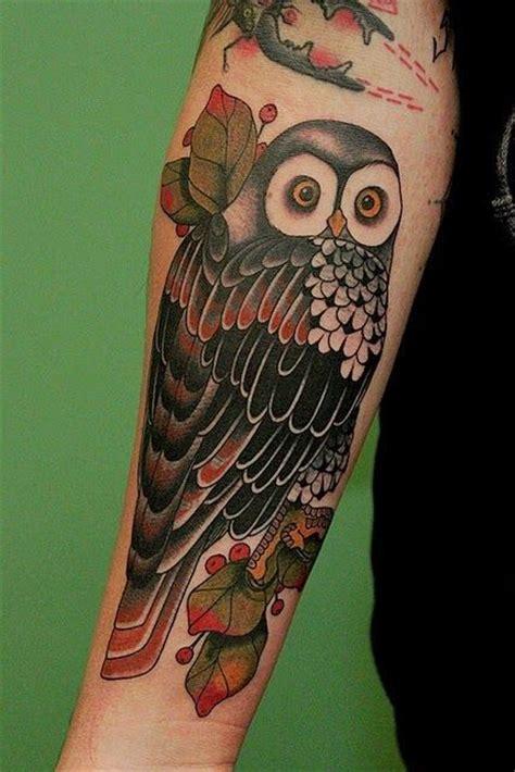 owl tattoo red red color owl design tattoos designs of owl tattoos owl