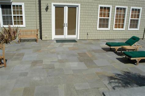 dry laid cut bluestone patio traditional patio san francisco by o connell landscape