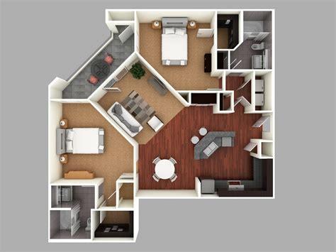 multi story house plans 3d 3d floor plan design modern 3d colored floor plan architecture colored floor plan