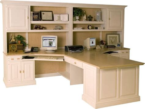 Good Home Office Furniture For Two People The Peninsula Home Office With Two Desks