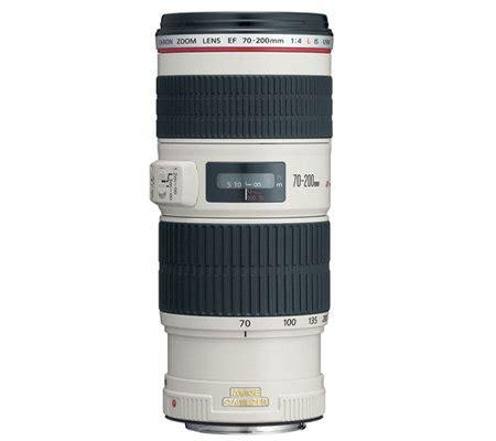 len qvc canon ef 70 200mm f 4l is usm lens qvc
