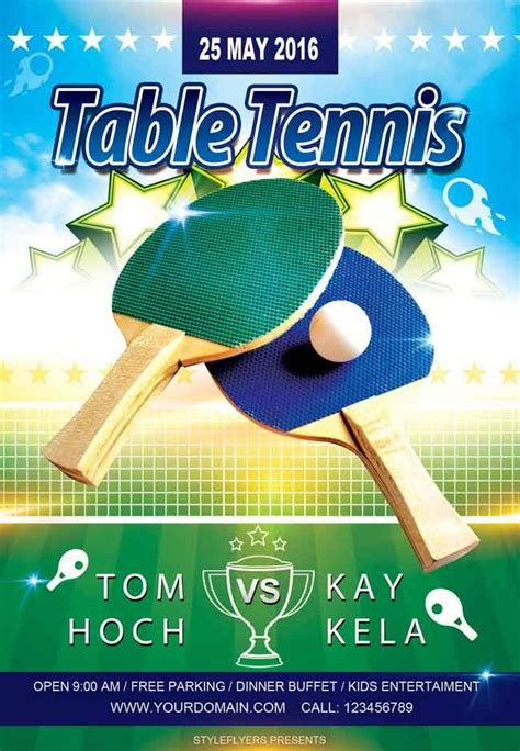 Table Tennis Flyer Psd Free Design Pinterest Flyer Template Psd Flyer Templates And Free Free Pong Flyer Template