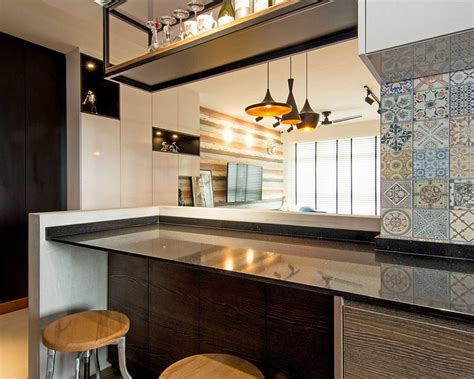 Home in Singapore: Space Savvy Interior Laced with