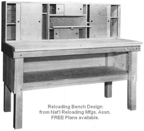 reloading bench blueprints pdf diy reloading desk plans download rocking horse