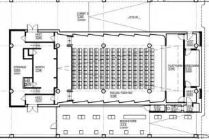 movie theatre floor plan william architect museum of moving image