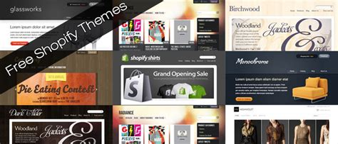 shopify premium themes free 15 best shopify themes for free download