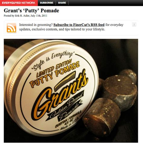 Pomade Banditos Original Usa Limited finer cut review grant s golden brand water based