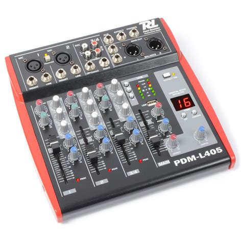 pdm l405 mixer 4 channel mp3 echo mixers