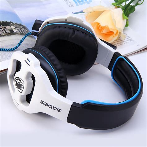 Sades 903 71 Usb Soundcard gaming headset wired headphone with mic volume
