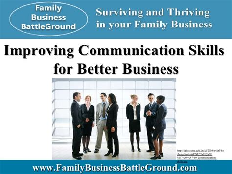 better business communication improving communication skills for better business