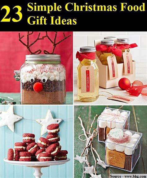 23 simple christmas food gift ideas home and life tips