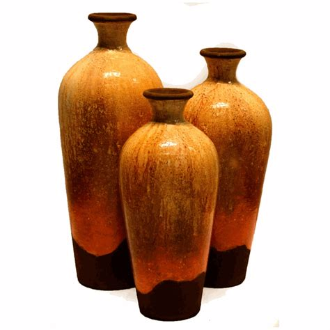 Sets Of Vases by Iris Vases Set Of 3