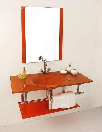 Lavandini Bagno In Vetro by Mobile Bagno Best Con Lavabo In Cristallo Colorato Bz