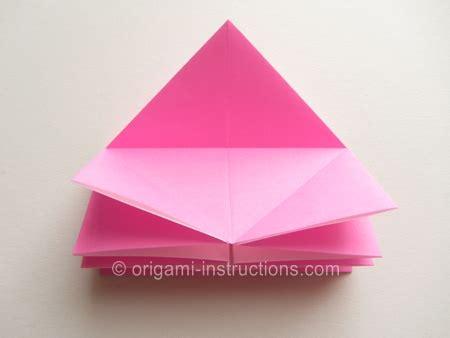 Twisty Origami - easy origami twisty folding