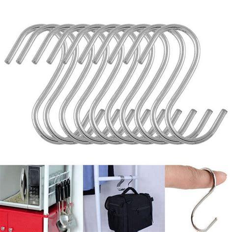 Panci Stainless Steel hanger gantungan serbaguna stainless steel 10pcs silver jakartanotebook