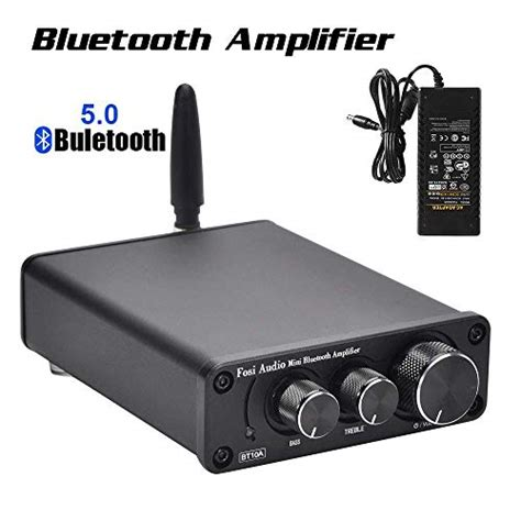 bluetooth audio receiveramplifier model  black
