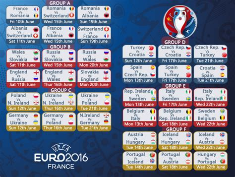 Calendario Football 2016 Live Uefa 2016 From Anywhere With Ibvpn