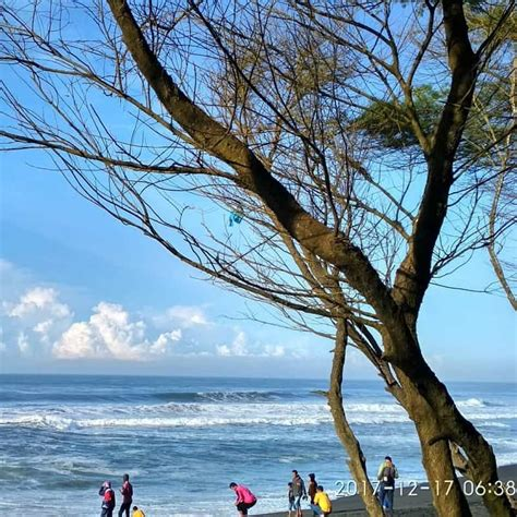 pantai goa cemara lokasi  harga tiket masuk wisata