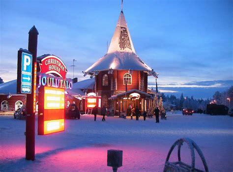 casa di babbo natale finlandia la vera casa di babbo natale si trova in lapponia