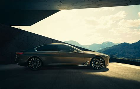 future bmw 7 bmw previews the upcoming 7 series with vision future