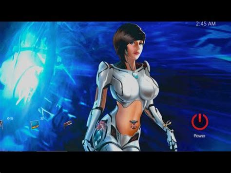 girl themes for ps4 ps4 dynamic themes sexy fem sci android bot youtube