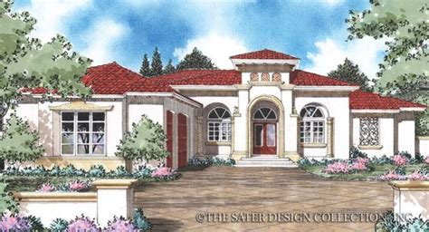 pin by sater design collection on mediterranean house porta rosa house plans home and the o jays