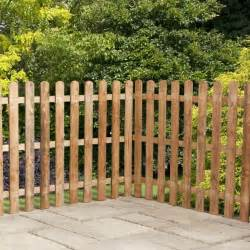8 Foot Garden Trellis 3ft X 6ft Waltons Picket Rounded Top Garden Fence Panels