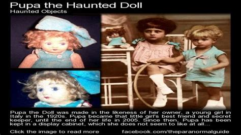 haunted doll stories the shocking true story of pupa the haunted doll paranormal