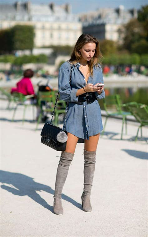 how to wear the knee boots dress and the knee boots 13 you must see