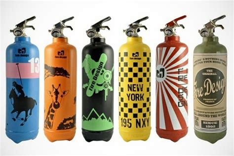 Decorative Fire Extinguisher | fire design decorative fire extinguishers bonjourlife