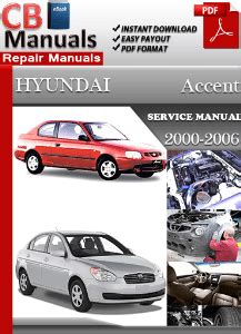 manual repair autos 2006 hyundai accent on board diagnostic system hyundai accent 2000 2006 service manual free download service repair manuals